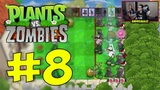 Прохождение Plants vs Zombies на Xbox One X - Часть 8. Версус режим (VS Mode) с Настей