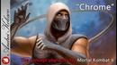 Chrome - MK X - digital painting