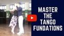 How to do the Tango Cross Beautifully