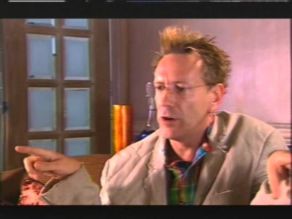 JOHNNY LYDON RARE INTERVIEW (BBC HEAVEN AND EARTH SHOW) 2/10/2005