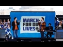 Lin-Manuel Miranda and Ben Platt perform Found/Tonight at March For Our Lives