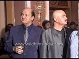 Prem Chopra and Rakesh Roshan attend music release party of film Karobaar