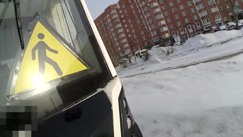 Зацеп трамвая Stadler B85300M Метелица с запалом!