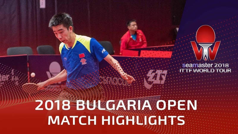 Ma Te vs Liam Pitchford | 2018 Bulgaria Open Highlights (R16)