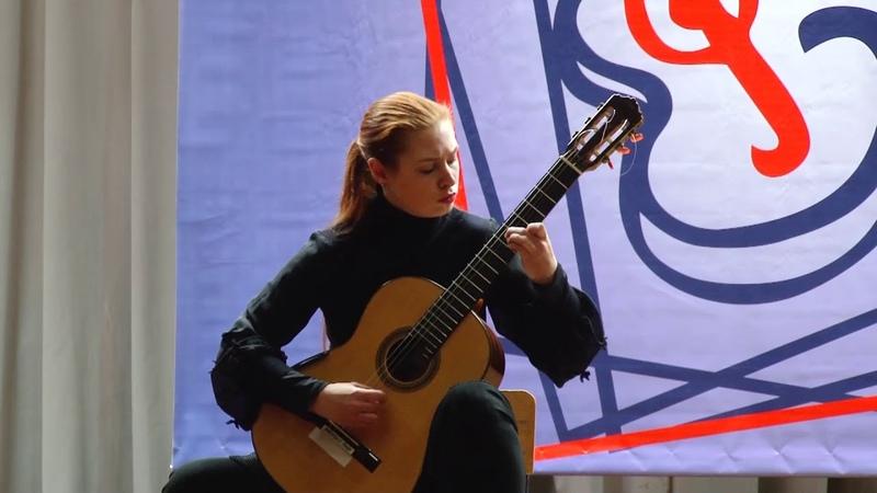 M. M. Ponce - Sonata 3 (perf. by Eugenia Shkarupa)