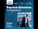 Шаламов В Избранное Рудник Ю аудиокнига советская проза 2013 2 2