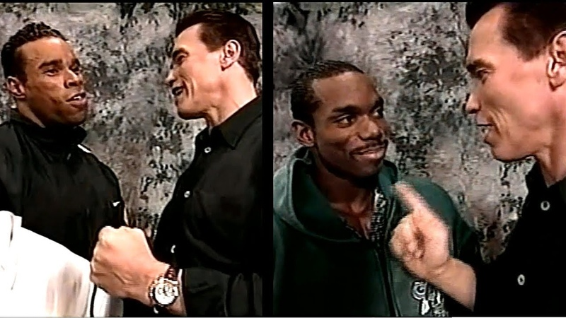 Arnold Schwarzenegger Old Tricks in 96 w Levrone Wheeler Ray Taylor