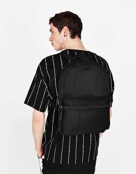 Рюкзак с сетчатыми деталями