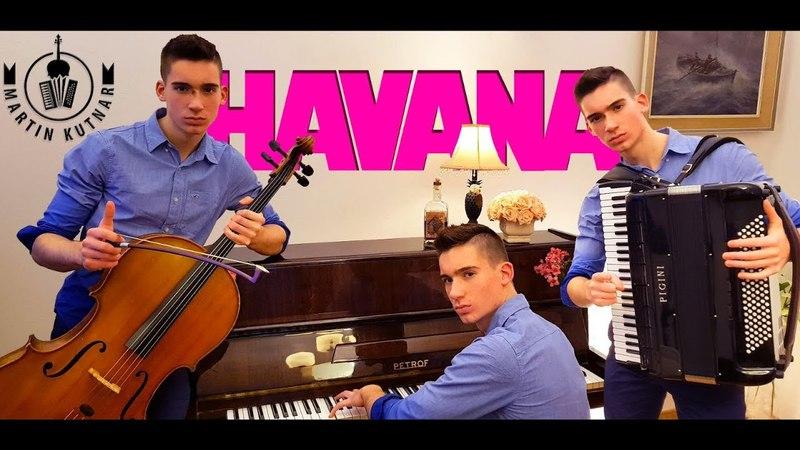 Havana - Camila Cabello [NEW COVER] on cello, piano and accordion by Martin Kutnar