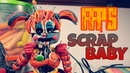 ULTIMATE CUSTOM NIGHT SCRAP BABY 😱😱😱 PLASTILINA..../PORCELANA....