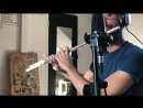 Nicola Rizzo play standards jazz on flute -Solo on Milestones by Miles Davis