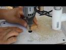 Сверлильный станок из дремеля и ПВХ труб
