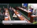 André Lázaro 'não aguenta' críticas de Bolsonaro e abandona sessão veja vídeo