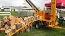 10 Amazing Automatic Firewood Processing Machine Homemade Modern Wood Cutting Chainsaw Machines