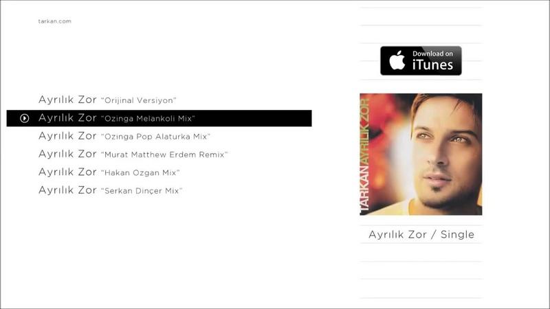 Tarkan - Ayrılık Zor ( Ozinga Melankoli Remix )