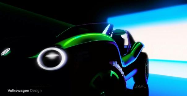 Volswagen раскрыл внешность электрического багги Шоу-кар покажут публике на Женевском международном автосалонеКомпания Volswagen показала первые изображения электрического концепт-кара, внешне
