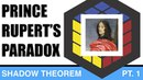 The cube shadow theorem pt.1 Prince Ruperts paradox