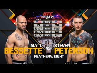 The Ultimate Fighter 27  FINALE Matt Bessette vs. Steven Peterson