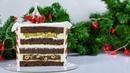 БИСКВИТНЫЙ шоколадный ТОРТ с пряной грушей и фундуком Крем из маскарпоне и белого шоколада