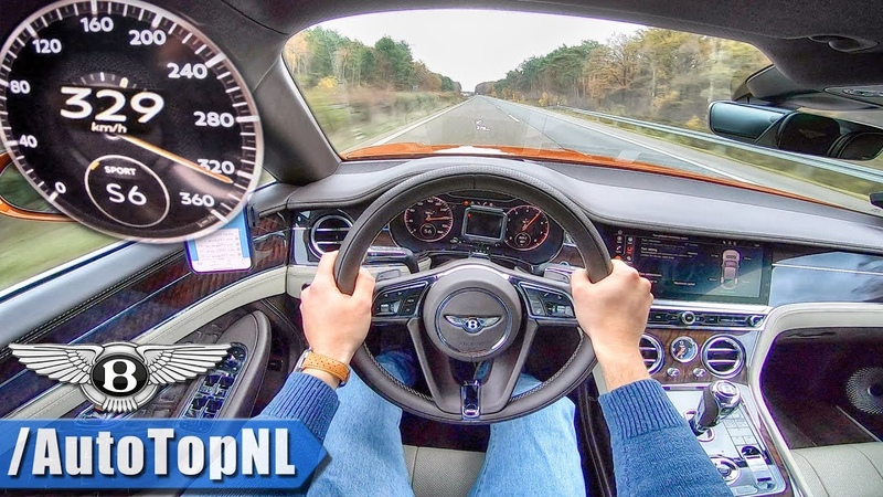 2019 BENTLEY CONTINENTAL GT W12 329kmh AUTOBAHN POV by AutoTopNL