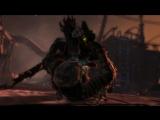 Dead Space 3 - Leaper Attack (melee combat)