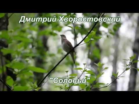 Дмитрий Хворостовский Соловьи Nightingales