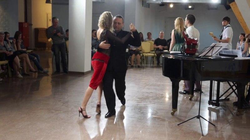 Алексей и Мария Рукавицыны. «Por una cabeza»