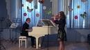 Сицилиана (И.С.Бах) - Патова Мария (Флейта) - Анна Махова