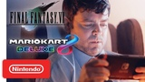 Nintendo Switch My Way Final Fantasy VII &amp Mario Kart 8 Deluxe