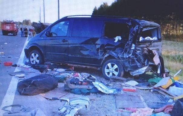 На трассе «Каспий» в Тамбовской области погиб водитель грузовика