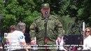 Дончане почтили память погибших четыре года назад во время первых бомбардировок аэропорта