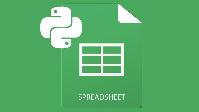 Python And Spreadsheets