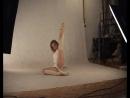Гимнастка Ирина позирует в студии №2.