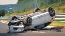 Подборка аварий на трассе NÜRBURGRING CRASH COMPILATION 2018 - Nordschleife Crashes Fails Touristenfahrten VLN
