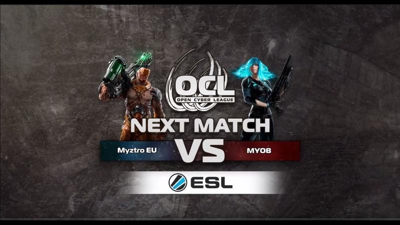 Blind Trust (toxjq, clawz) vs Myztro Gaming (Spartie, Raisy). Go4QC. Quake Champions