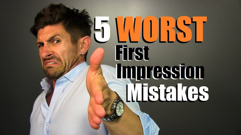 5 WORST First Impression MISTAKES Men Make How To Fix Them
