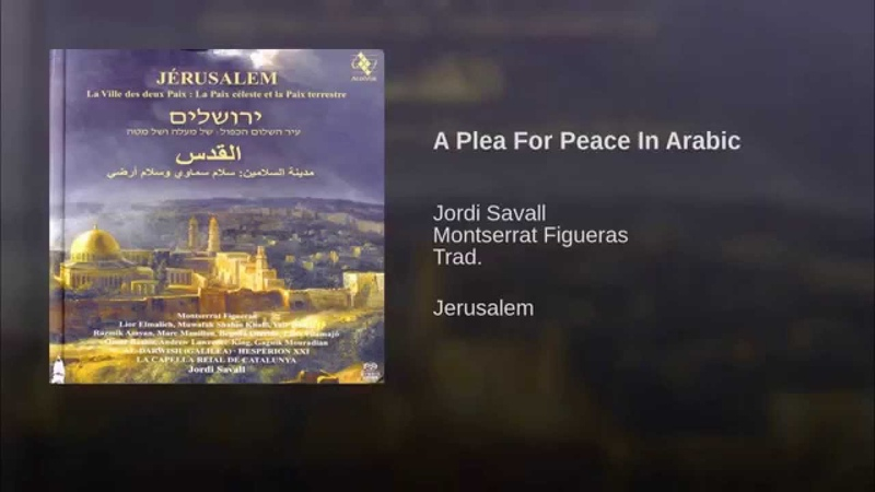 A Plea For Peace In Arabic