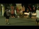 День памяти Майкла Джексона 25 06 2018 прохожие на Новинском б ре