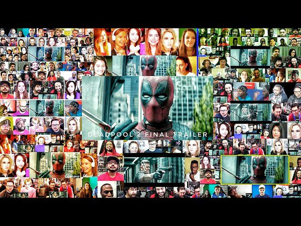 DEADPOOL 2 - The Final Trailer Mega Reactions Mashup | Deadpool 2 Trailer reaction | Deadpool 2