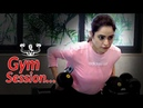 Aamna Sharif Workout Session Upcoming Project Workout Routine