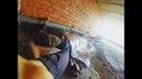 Переночевал на крыше Сталк по нефтебазе