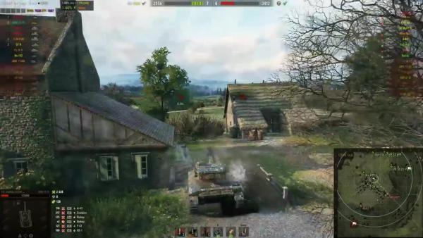 World of Tanks Уроки игры на ЛТ Светить или Наносить урон