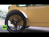 Spain Is Evovelo's solar-powered 'Mo' car the future for driving in cities