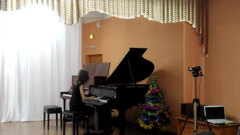 Yann Tiersen - Comptine d'un Autre Ete в исполнении Виктории