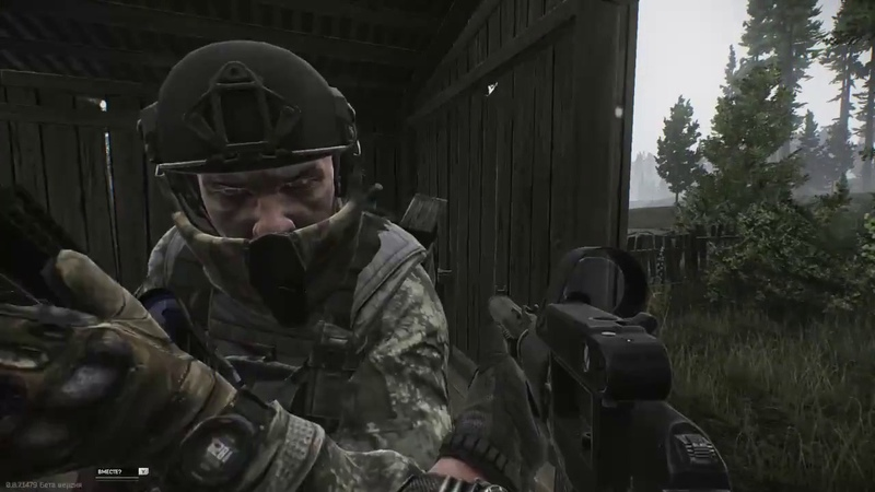 бежит кто то : Escape From Tarkov симулятор хомяка в кирзовых сапогах