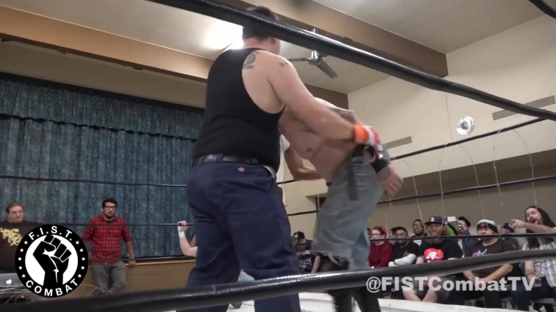 Chuey Martinez Ron McDonald (c) vs. Chip Law Randy Order [FIST Combat Hardcore Title Barbwire Death Match]