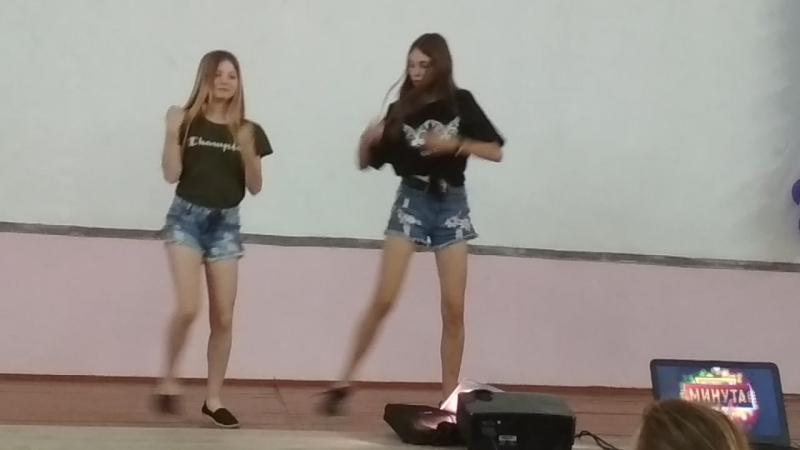 Минута славы, танец Саши и Маргариты, 5 отряд (Орлёнок)