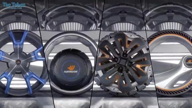 Колеса будущего. Вот это автошины с дисками. Новые технологии. Extreme 4x4