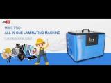 9TU-M007 Pro all in one laminator machine