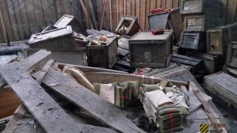 Заброшенные общевойсковые склады Омского гарнизона - Омск - Россия